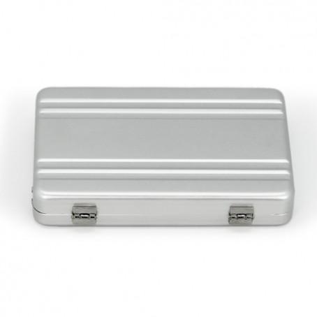 Caja de metal maleta