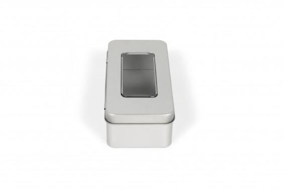 Caja metal Promobox con ventana