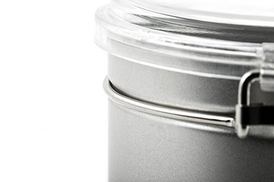 Caja metal redonda