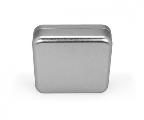 Caja metal cuadrada Slim