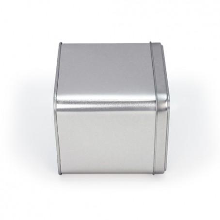 Caja metal cubo