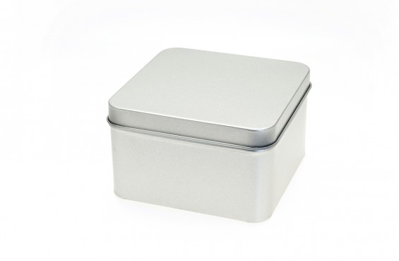 Caja metal cuadrada L