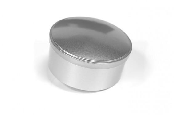 Embalaje de metal redondo