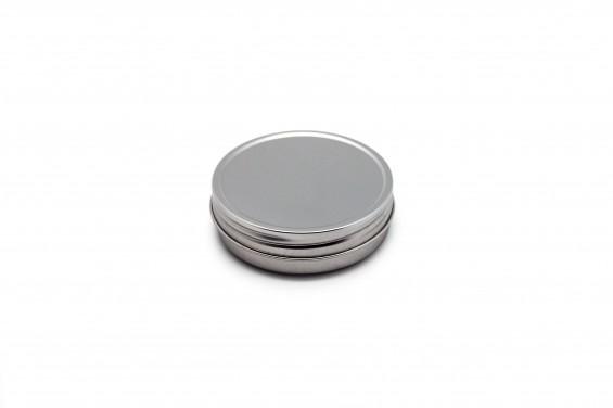 Embalaje aluminio redondo bajo