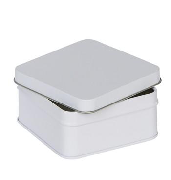 Embalaje cuadrado blanco M