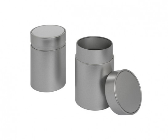 Embalage de metal redondo