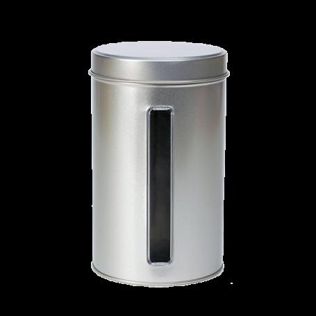 Caja de metal redonda