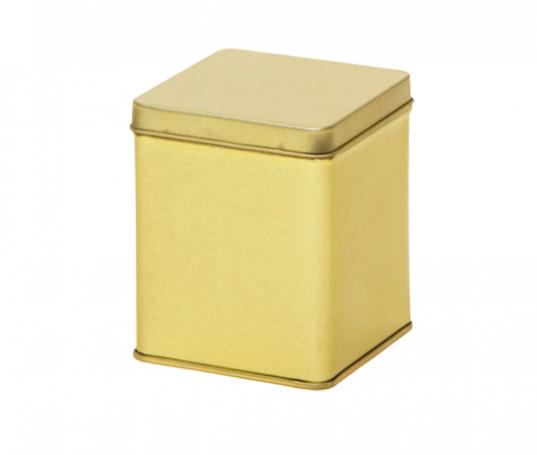 Embalaje cuadrado dorado