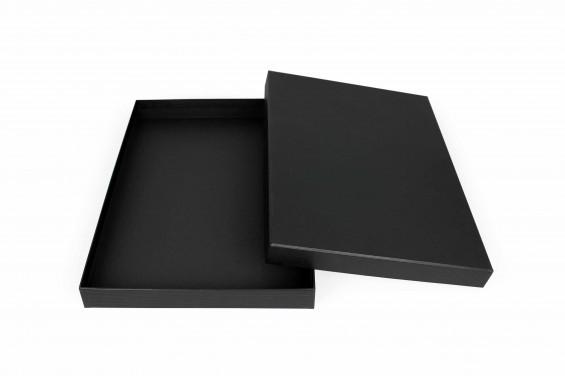 Embalaje de cartón compacto A4 con tapa | Caja A4