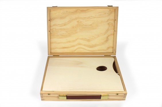 Caja tipo maleta