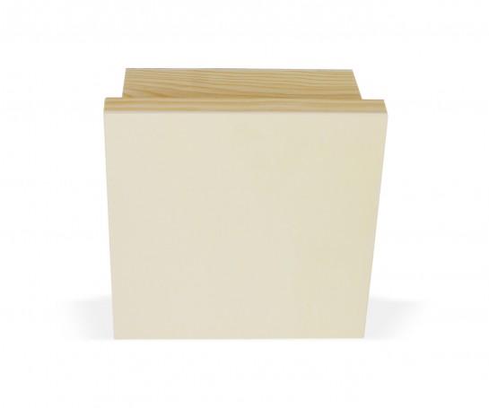 Caja de madera con 16 separadores