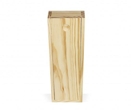 Caja de madera con tapa