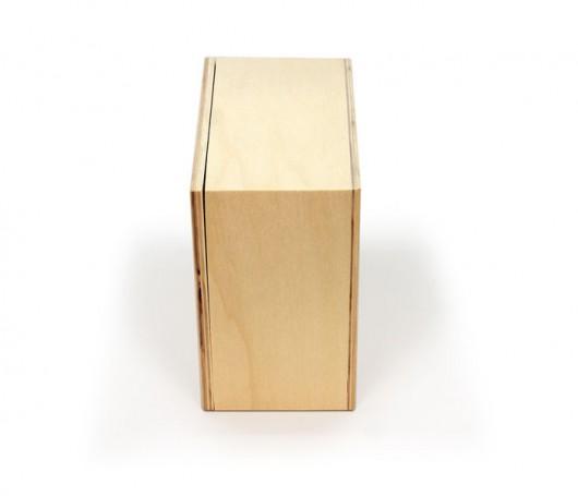Caja de madera con tapa extraíble