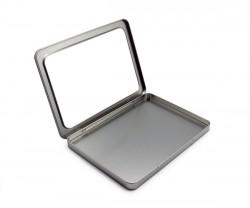 Caja metal A5 con ventana