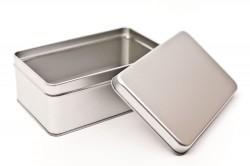 Caja metal rectangular