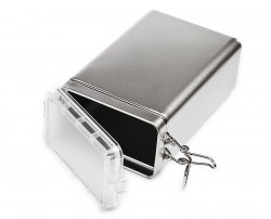 Caja metal tapa hermética