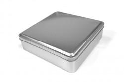 Embalaje de metal cuadrado