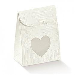Bolsa de cartón blanco