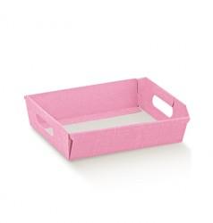 Bandeja color rosa