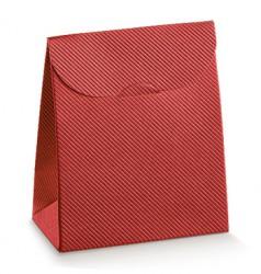 Embalaje de cartón roja
