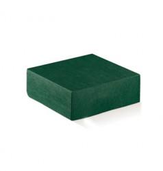 Embalaje de cartón verde