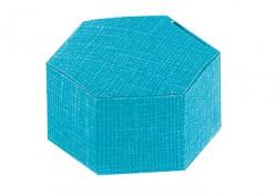 Hexágono azul