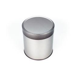 Embalaje de metal redonda