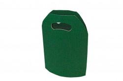 Bolsa cartón ondulado verde