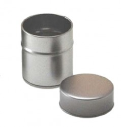 Embalaje metal redondo pequeño