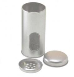 Embalaje metal dos tapas