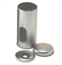 Embalaje metal redondo 2 tapas
