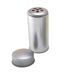 Embalaje metal redondo dos tapas