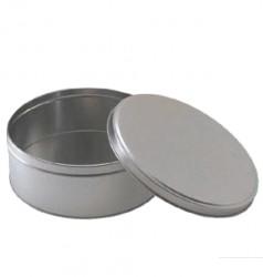 Embalaje metal redondo bajo