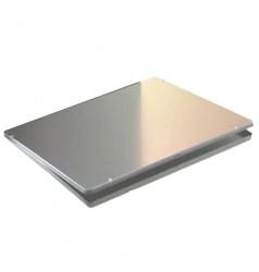 Embalaje metal rectangular bajo A4