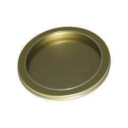 Embalaje metal CD dorado