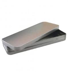 Embalaje metal rectangular