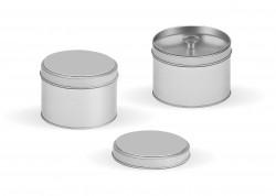 Embalaje de metal 2 tapas