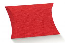 Almohada de cartón roja