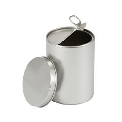 Embalaje redondo tipo abre latas