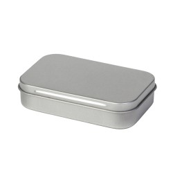 Caja pequeña metálica