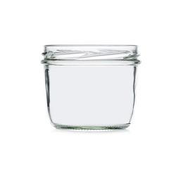Frasco de vidrio redondo 230ml