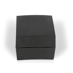 Caja de plástico negra