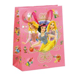 Bolsa con diseños de princesas de Disney