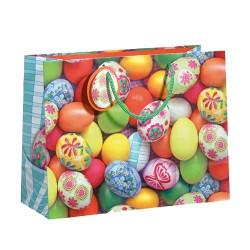 Bolsa con huevos de pascua