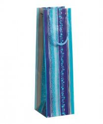 Bolsa colorido en tonos de azul