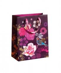 Bolsa con diseño floral