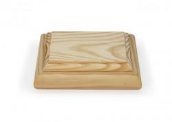 Caja de madera trabajada