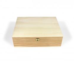 Caja de madera con divisiones